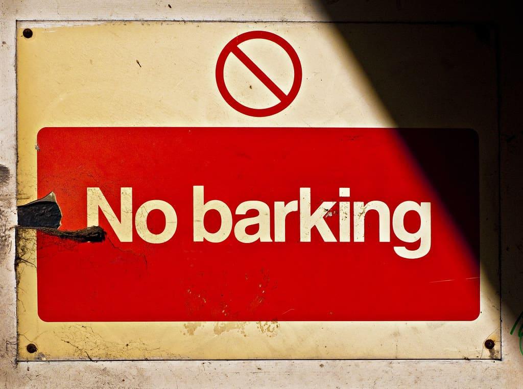 anti barking device that work through wall